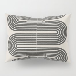 Geometric Mid Century Art Pillow Sham