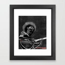 Frank Zappa Framed Art Print
