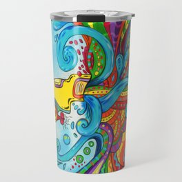The Yellow Submarine Travel Mug