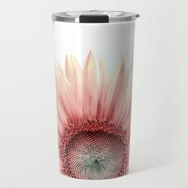 Pink Sunflower Travel Mug