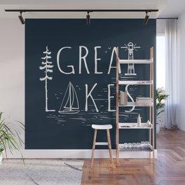 Great Lakes Wall Mural