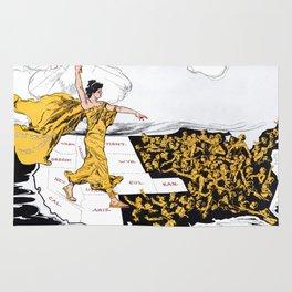 The Awakening - Women's Suffrage Illustration, 1915 Rug