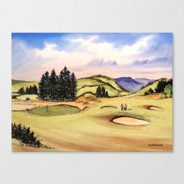 Gleneagles Golf Course Scotland Canvas Print