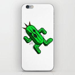 Cactuar Digital Drawing, Games Art, Kyactus, Final Fantasy Art iPhone Skin