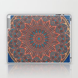 Wooden-Style Mandala Laptop & iPad Skin