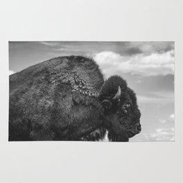 Buffalo Portrait Rug