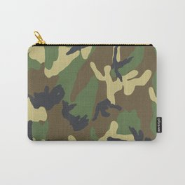 Woodland Camo Carry-All Pouch