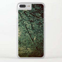 Into the Enchanted Forest Clear iPhone Case