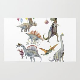 PARTY OF DINOSAURS Rug