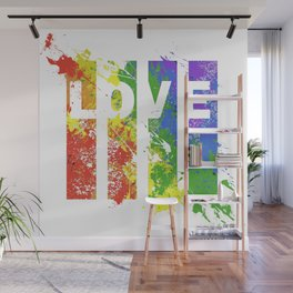 LOVE/COLOR Wall Mural