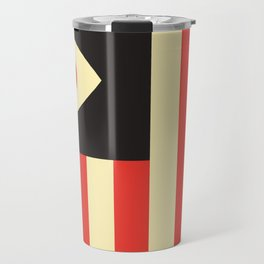 Stares and Stripes Travel Mug