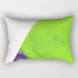 green triangle Rectangular Pillow