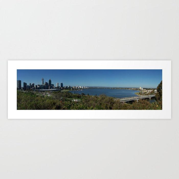 City Panorama Art Print