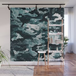 Surfing Camouflage #2 Wall Mural