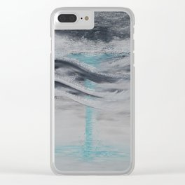 """Wind And Water"" Painting1of 2 - Elements Series Clear iPhone Case"