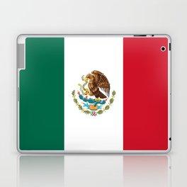 Flag of mexico- mexico,mexico city,mexicano,mexicana,latine,peso,spain,Guadalajara,Monterrey Laptop & iPad Skin