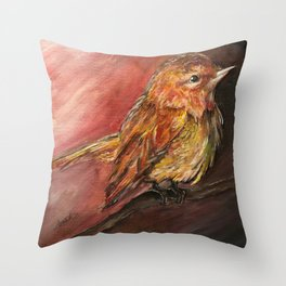 Waiting For The Dawn Throw Pillow
