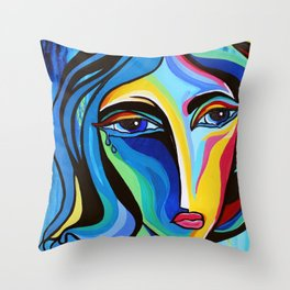 EMOTiONS Collection: Sadness Throw Pillow