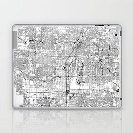 Las Vegas White Map Laptop & iPad Skin
