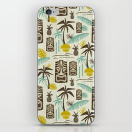 Island Tiki - Tan iPhone Skin