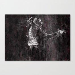 Michael MJ - Jackson, Impressionism, Poster, Music, Art Print. Pop Culture Home decor, Dorm Decor Canvas Print