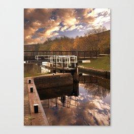 Holmes Lock Canvas Print