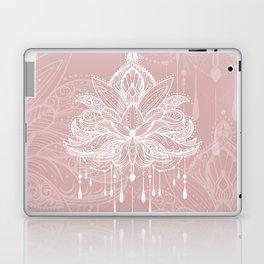 Blush mandala Laptop & iPad Skin