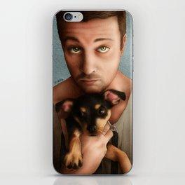 Dan Feuerriegel & Teddy the Puppy iPhone Skin