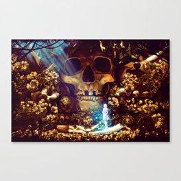 Bone Garden Canvas Print