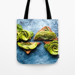 Avocado Foodie Art Tote Bag