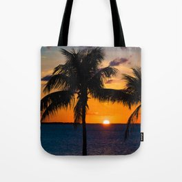 Key Largo Sunset Tote Bag
