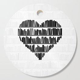 Book Lover II Cutting Board
