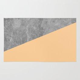 Geometry 101 Orange Sherbet Rug
