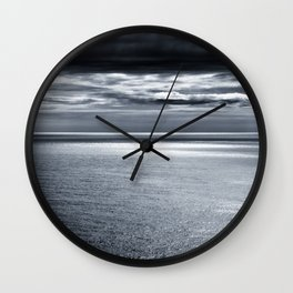 storm over water Wall Clock