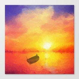 Il était un petit navire Canvas Print