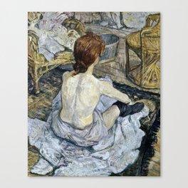 Henri De Toulouse Lautrec - Rousse Canvas Print