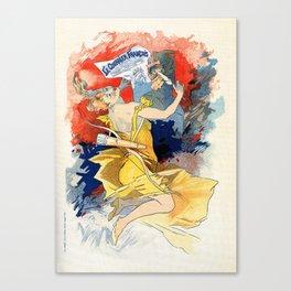 Le courrier français 1891 Canvas Print