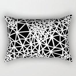 Glass Jewerly in black Rectangular Pillow