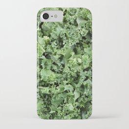 Shredded kale iPhone Case
