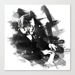 Piano Genius Arrau Canvas Print