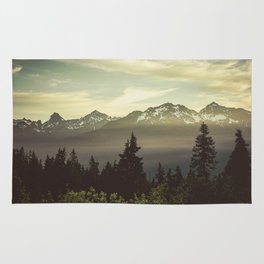 Morning in the Mountains Rug