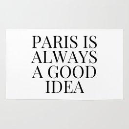 Paris is Always a Good Idea Rug