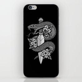 Snake & Dagger iPhone Skin