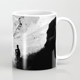 Snowy Isolation Coffee Mug