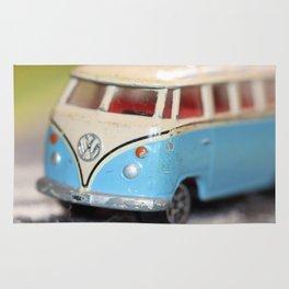Vintage Minibus-Color Rug