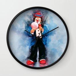 The Clown Wall Clock