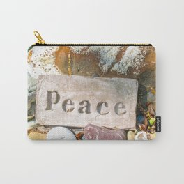 Peace by Mandy Ramsey Carry-All Pouch