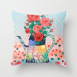 Gertrude's bunch Throw Pillow