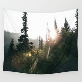 Sunny Forest II Wall Tapestry
