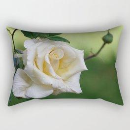 Beautiful Cretan Rose Rectangular Pillow